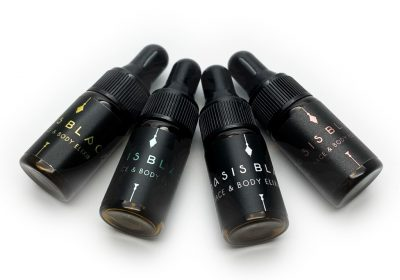 Oasis Black - Face & Body Elixir Sampler