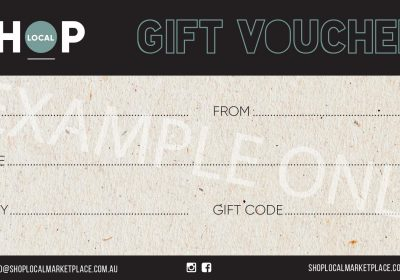 SHOP LOCAL GIFT VOUCHER