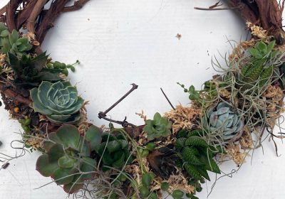 annies green thumb wreath